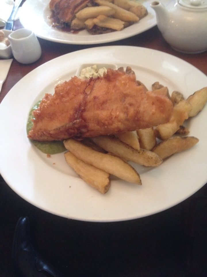 Fish and Chips at the Mustard Pot