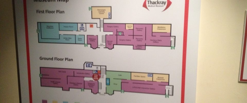 Thackray Medical Museum Map