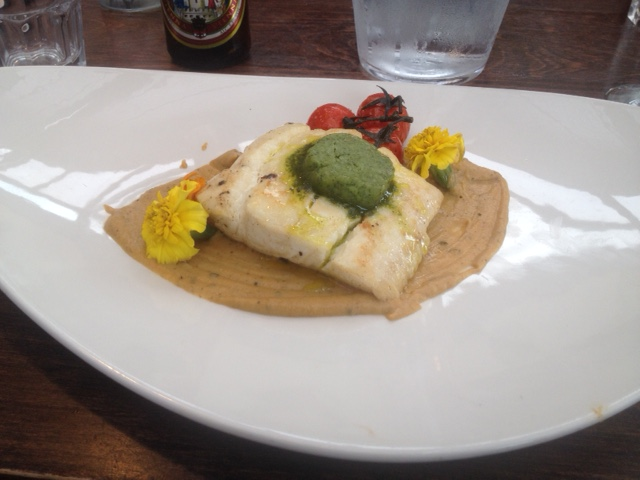 Pan Fried Halibut Peroni